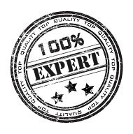 Demonstrating your brilliance? Expertise-y peasy!