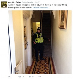 Client Blog: Police resort to breaking and entering!
