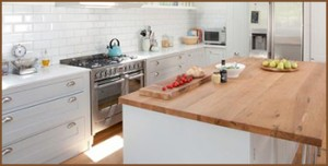 Kitchen worktop options
