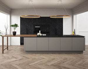 Langham slate and Mayfair kitchen