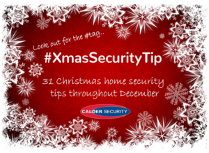 Christmas home security tips